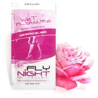 Sachet Gel Efecto Calor Femenino Wet Pleasure x12