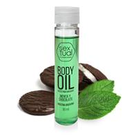 Body Oil Menta y Chocolate 30ml Sextual